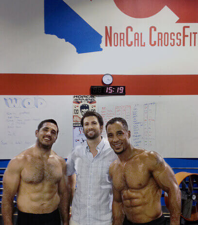 Dr. Karo before the Crossfit Games