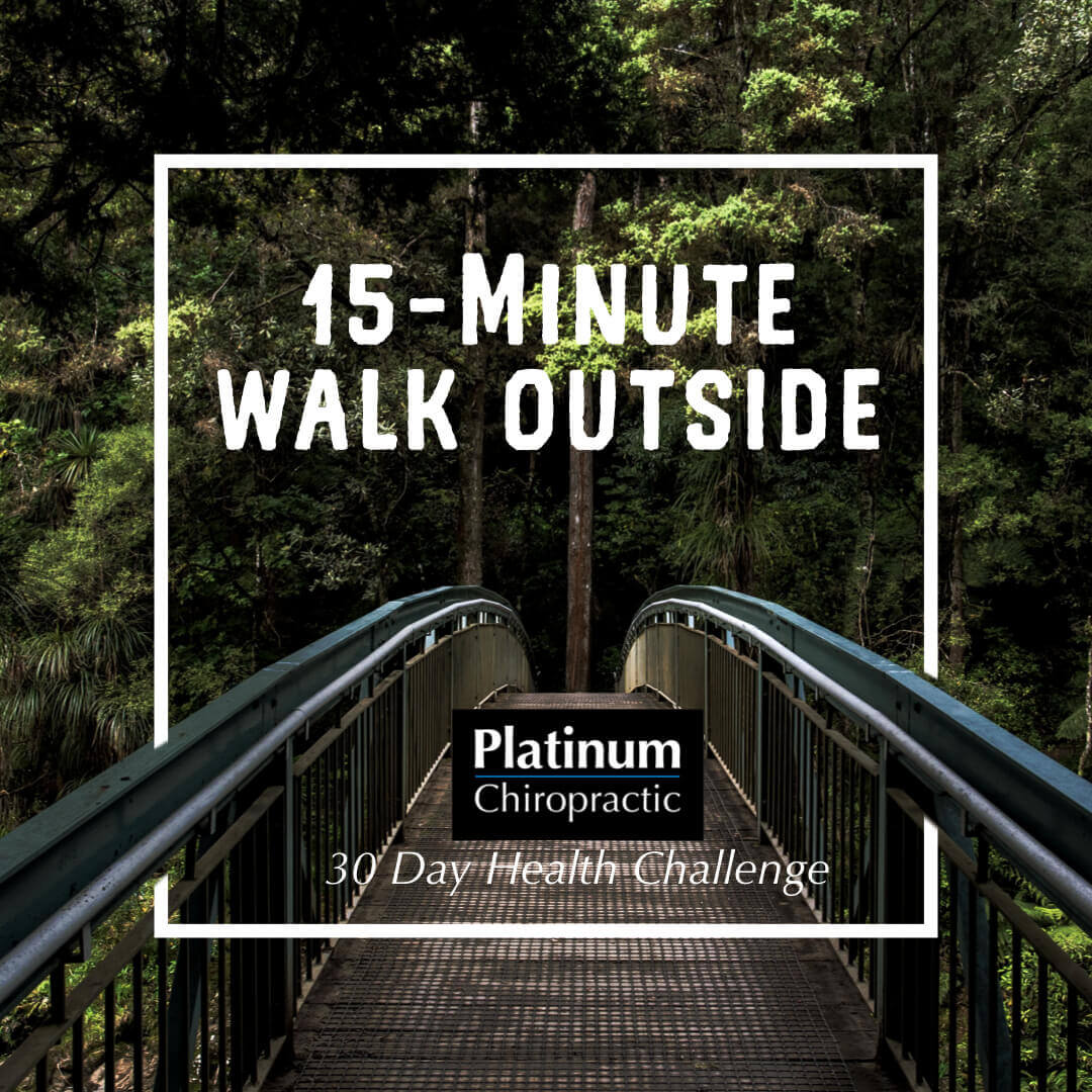 15 minute walk outside poster