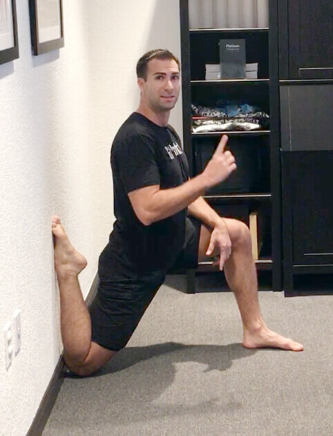 Couch Stretch for 2 Minutes Each Side
