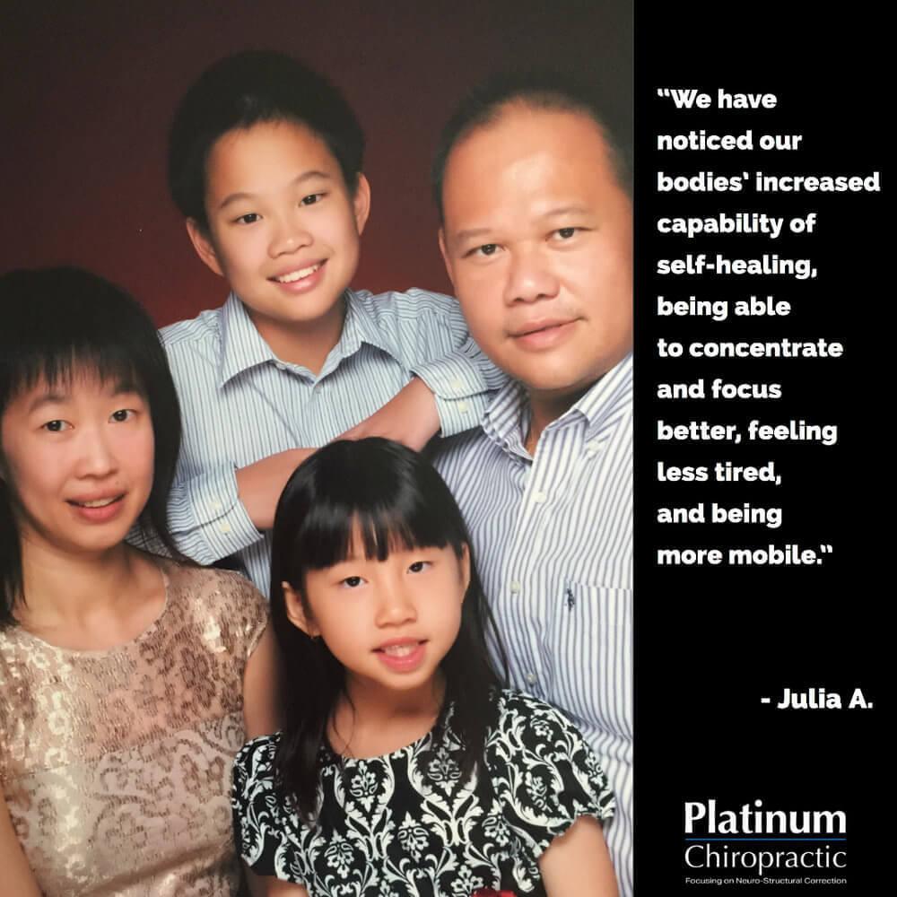 Julia Testimonial