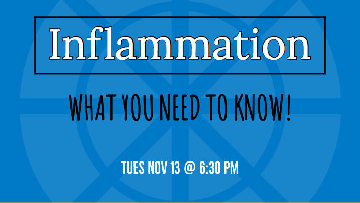 Inflammation: What You Need To Know Poster
