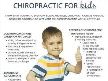 Kids Chiropractic Home Image