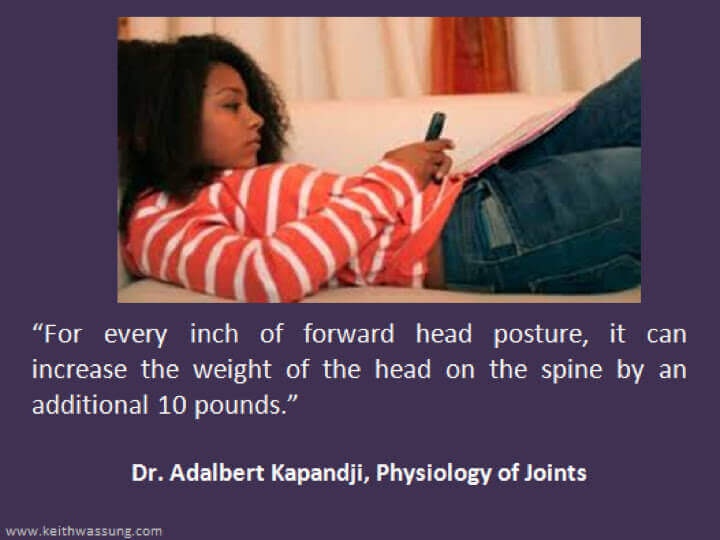 doctor says on posture
